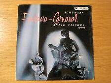 """ANNIE FISCHER """"Fantasia & Carnaval"""" orig b/g Columbia LP"""