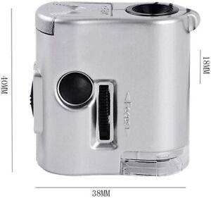 Lente Microscopio x gioielli 60X orologi orologiaio orefice miniature Cellulare