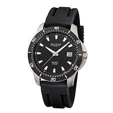 Regent Armbanduhren mit Armband aus Kunststoff für Herren
