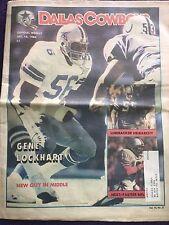 """"""" NFL Dallas Cowboys Official Weekly Magazine December, 15, 1984; Vol. 10, No.27"""