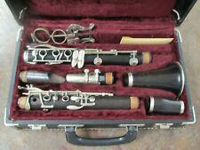 Vintage V. Kohlert and Sons Graslitz Bohemia Wood Bb Clarinet in Case