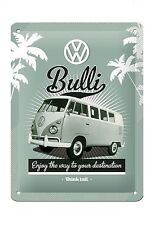 VW Bulli Metal Sign 20 x 15 cm - BLECHSCHILD