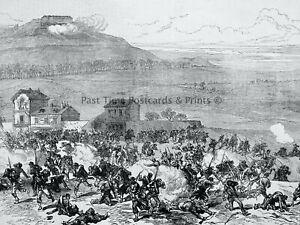 1871 Print FRANCE CIVIL WAR IN PARIS COMMUNIST AT NANTERRE Franco Prussian War