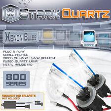 35W 55W Xenon HID Bulbs Fog Light 8000K Ice Blue - 880 881 899 Replacement Pair