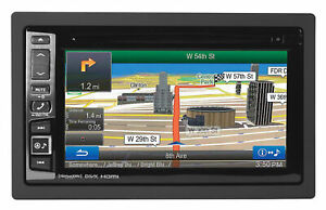 "ALPINE INE-NAV-60HDMI 6.1"" Car Navigation Bluetooth Receiver HD Radio 9 Band EQ"