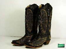 Leather Medium (B, M) Cowboy, Western 8 Boots for Women