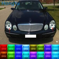 Multi-Color LED Angel Eyes Halo Rings Kit for Mercedes Benz e class w211 2003-09