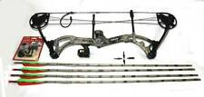 Bear Encounter First Edition Compound Bow w/ Trophy Ridge Sight, Arrows