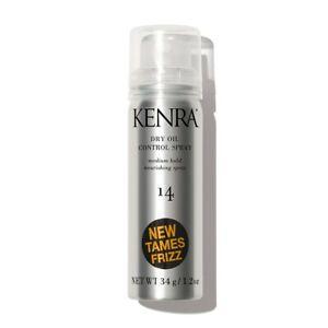 KENRA # 14 DRY OIL CONTROL MEDIUM HOLD NOURISHING HAIR SPRAY 1.2 OZ TRAVEL SIZE