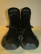 XCel Mens Drylock TDC 7mm Round Toe Boot Shoes wetsuit Black/Grey Size 9