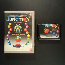 JUNCTION Sega Mega Drive NTSC JAPAN・❀・PUZZLE no manual ジャンクション see description