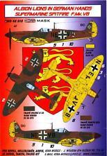 KORA Models PAINT MASKS 1/48 SUPERMARINE SPITFIRE F.Mk.VB IN GERMAN HANDS
