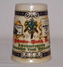 "ANHEUSER BUSCH CERAMIC BEER BUG Advertising ""Through The Decades"" Ceramarte 1994"