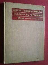 1966 MEXICO MANUAL PRÁCTICO DE BEBIDAS PARA LA INDUSTRIA DE REFRESCOS COCA-COLA