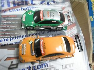 SCX Analog 1/43 Scale Slot Car Set ( Track, 2 Cars,  Power Supply and controlle)