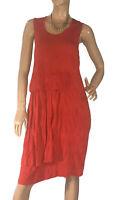 🌻JIMMY JEAN AUSTRALIA SIZE 16 CRINKLE LOOK STRETCH JERSEY DRESS
