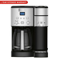 Cuisinart 1-12 Cup Coffeemaker Refurbished (SS-15FR) w/Extended Warranty