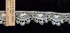 New listing Vintage/Antique Ecru Cotton Handmade Lace 1.9 Yards