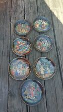 Russian Legends Collection Bradex Lot 6 Decorative Plate No Box or Papers. 7-1/4
