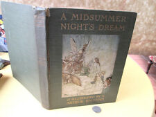 A MIDSUMMER NIGHT'S DREAM, C.1914, Shakespeare, Color Illust.Arthur RACKHAM