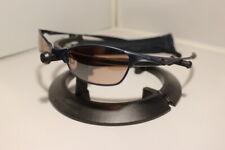 New Oakley Wiretap Sunglasses Cobalt Blue w/VR28 Lens RARE 2005