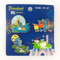 Loungefly Disneyland 65th Anniversary 4pc Enamel Collector Trading Pin Set