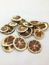 1 x 250g dried fruit  lemon slices green for christmas decoration or wreaths