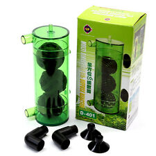 Aquarium Direction Co2 Diffuser Reactor for 40~120L Up Plants Fish Tank Atomizer