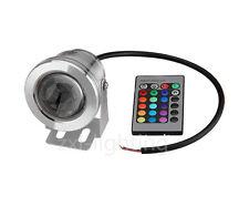 10W LED Unterwasserstrahler Scheinwerfer 12V Gartenstrahler RGB Farbwechsel IP67