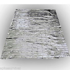 3 Pack Emergency Survival Safety Mylar Solar Blanket Wrap Thermal Escape Shelter