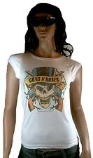 AMPLIFIED Official GUNS N'ROSES Pirat Skull Rock Star Designer WoW T-Shirt L 42