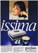 PUBLICITE ADVERTISING 044 1982 GUERLAIN ISSIMA