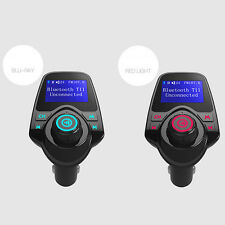 T11 LCD Bluetooth Car Kit MP3 Player FM Transmitter Wireless Adapter Handsfree