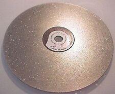 """6"""" Diamond Flat Lap 180 Mesh Lapidary Tool"""
