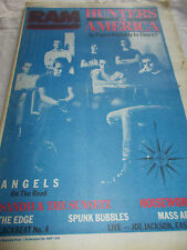 HUNTERS & COLLECTORS - RAM -OZ MUSIC MAG -1986-#298-ANGELS-NOISEWORKS-MASSAPPEAL