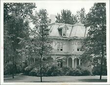1945 Pres. Truman's Home in Independence, MO Original News Service Photo
