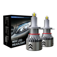 2x H7 LED Scheinwerfer Umbau 110W 30000LM 6000K Fehlerfreie Canbus Glühlampe