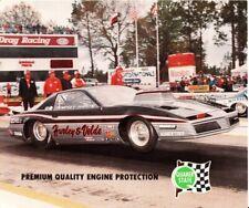 VINTAGE 1985 Dempsy Hardy NHRA Pro Stock handout Pontiac Firebird T/A hero card