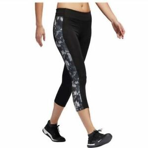 Adidas Womens Printed Gym Tights Leggins Climalite, Variety Pick Color and Size