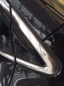 NEW OEM NISSAN MURANO 2015-2018 FRONT RIGHT FENDER TRIM / MIRROR FINISHER