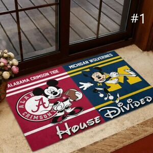 NCAA Any Teams, Any Leagues | House Divided | Custom Doormat