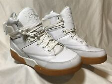 Patrick Ewing Athletics 33 Hi Basketball Shoes Sz 8.5 White Gumsole 1VB90014-108