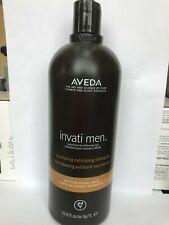 Aveda Invati Men Nourishing Exfoliating Shampoo 33.8 Oz[new]with pump