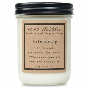 1803 Candles - 14 oz. Jar Candles - Friendship