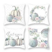 Pillowcase Pumpkin Cushion Cover Halloween Thanksgiving Home Sofa Decor SK