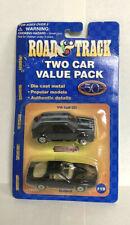 "Maisto Road & Track two car value pack ""Bad Boys""  - VW Golf GTI & Firebird -HTF"