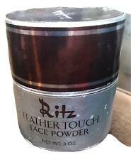 Vintage Charles of the Ritz Feather Touch Face Powder 3 Oz. Translucent Usa Made
