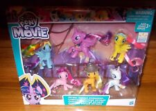 NEW My LIttle Pony the Movie Pirate Ponies Collection Mane 6 Walmart Exclusive