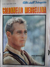 Albi dell' Intrepido n°1230 1969 - Mergellina Paul Newman Anna Identici  [G254]
