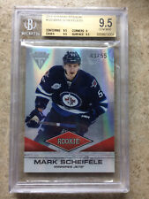 11-12 Panini Titanium RC #129 Rookie MARK SCHEIFELE /55 Graded BGS 9.5